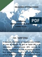 Apresentação EX TARIFÁRIO