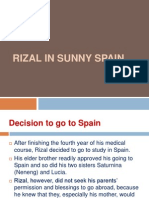 Chapter 6 Rizal in Sunny Spain