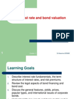 Chapter 5 Interest Rate and Bond Valuation