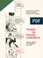 Teoria Da Poesia Concreta - Campos, Haroldo e Augusto