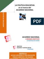 POLITICA EDUCATIVA CORDOBA