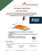 Hot Metal Detector Hmd-3000 Brochure