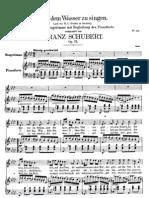 Auf Dem Wasser Zu Singen - Schubert
