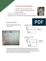 Practica Uso Del Osciloscopio