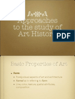 Approaches to Art History