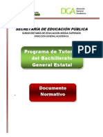Programa Tutorias Documento Normativo