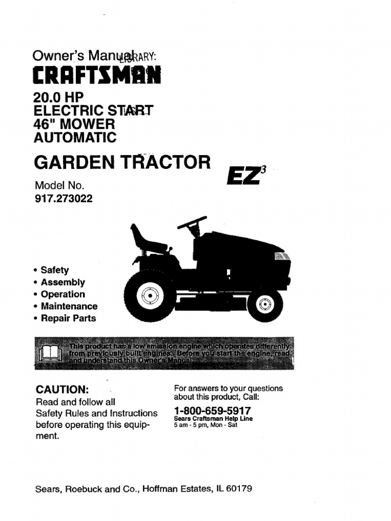 Craftsman Garden Tractor Manual Clutch Sears Smoothtop Wiring Diagrams