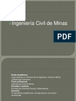 Ingenieria Civil en Minas
