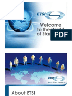 ETSI Presentation Updated March2011