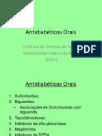 Aula teórica - Antidiabeticos orais