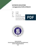 laporan geolistrik gpr