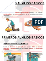 PRIMEROS AUXILIOS BASICOS