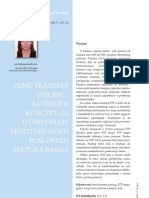 Fund Transfer Pricing
