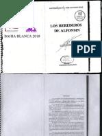 Los Herederos de Alfonsin, de Alfredo Leuco y José Antonio Díaz