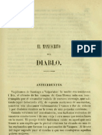 El Manuscrito Del Diablo - Lastarria