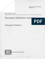 Pavement Deflection Analysis US Department of Transportation