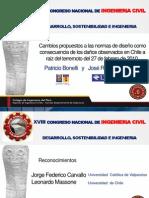 Cambios propuestos a las normas de diseño como consecuencia de los daños observados en Chile --oct2011
