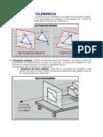 proyecciones cilindrica