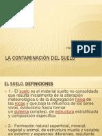 LA CONTAMINACIÓN DEL SUELO