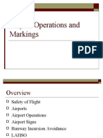 Airport Operations and Markings