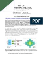 4DM4  Lab#1-2010-cache