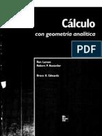 Cálculo con geometría analítica - R. Larsson 8ª ed.