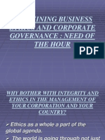 Redefining Business Ethics