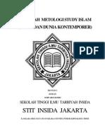 Makalah Metologi Study Islam