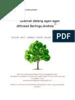 Nilah Arti Gambar Pohon Dalam Psikotes