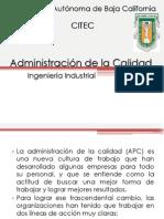 Admin is Trac Ion de La Calidad Final