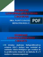 SINDROME LINFOPROLIFERATIVOS-TRATAMIENTO