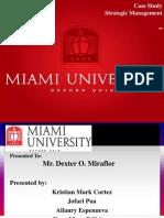 Miami University Case Study