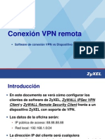 Technical Note ZyXEL VPN ZWvsSWClient