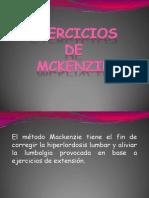 ejercicios de mckenzie