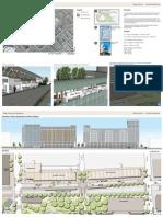 Market Street, Charlotte NC, Facade and Streetscape Design
