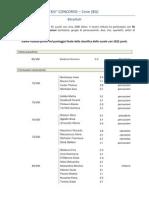 risultati concorso di cene 2012