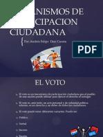 MECANISMOS DE PARTICIPACION