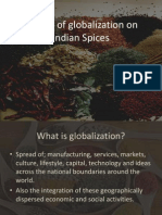 FINAL.... Impact of Globalization on Spices