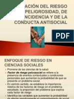 EVALUACIÓN PSICOLÓGICA DE LA PELIGROSIDAD DE LA REINCIDENCIA Y DE LA CONDUCTA CRIMINAL