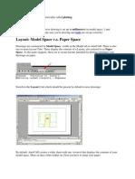 AutoCAD Page Setup