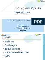 The Art of Infrastructure Elasticity Using AWS