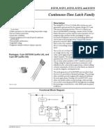 A121xCURRENT Datasheet