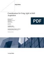 Using Agile in DoD