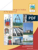 Atomic Energy in India a Prespective