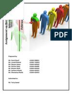 Assingment Recruitment Steps