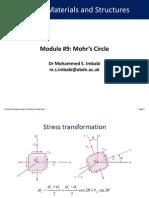 EG2502 Module 9 Mohr's Circle