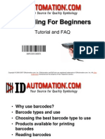 Barcoding for Beginners