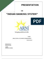 Presentation on Indian Banking System - Copy