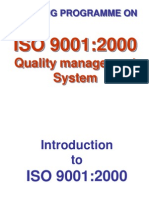 ISO 9001 2000 Quality Management System