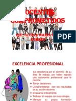 DOCENTES COMPROMETIDOS gloriamaria